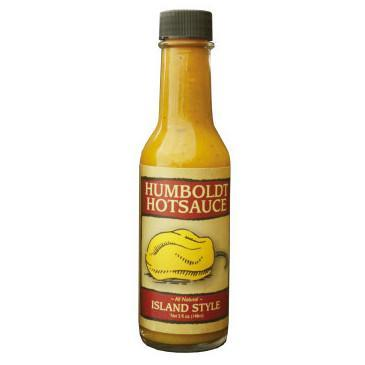 Island Style with Guava, Pineapple, & Banana - Humboldt Hot Sauce Heat Hot Sauce Shop
