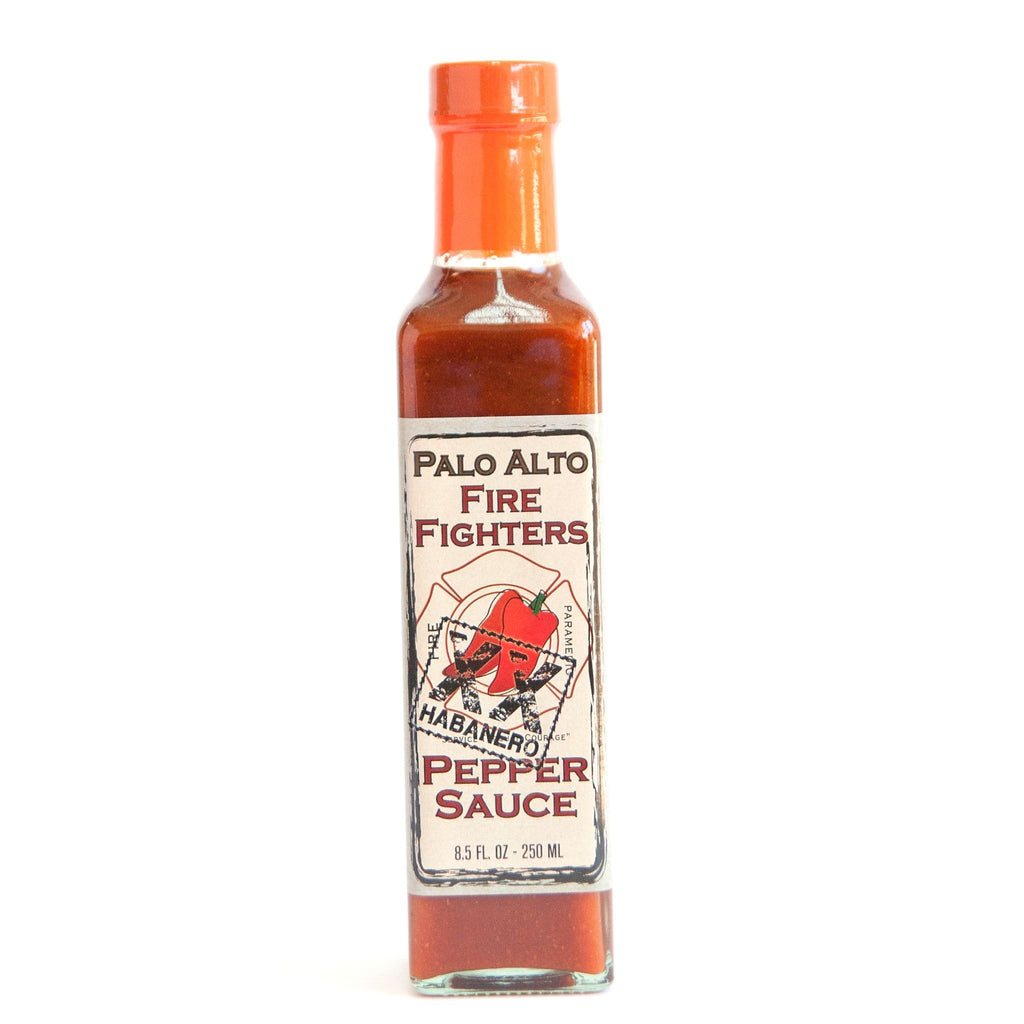 Palo Alto Firefighters Habanero Pepper Sauce - Palo Alto Firefighters Heat Hot Sauce Shop