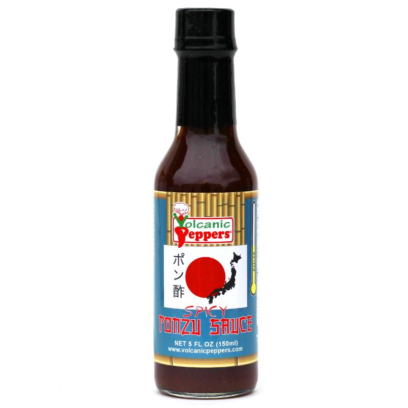 Ghost Pepper Ponzu - Volcanic Peppers Heat Hot Sauce Shop