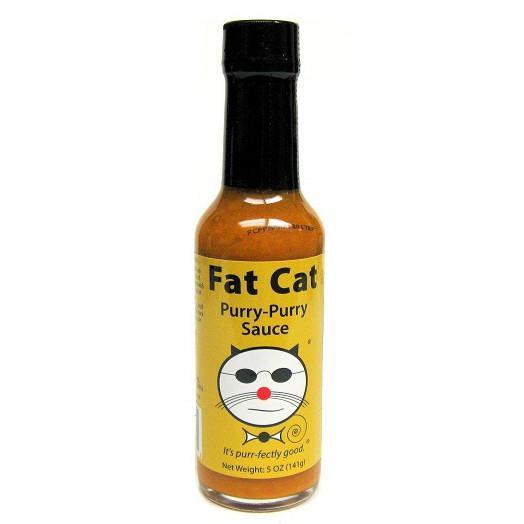 Purry Purry Sauce - Fat Cat Heat Hot Sauce Shop