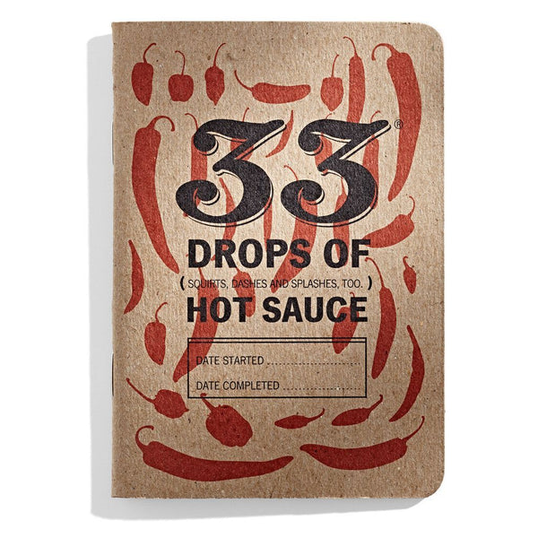 Hot Sauce Tasting Book - 33 Books Heat Hot Sauce Shop