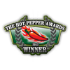 Orange Label Hot Fire-Roasted Pepper Sauce - Lucky Dog Hot Sauce Heat Hot Sauce Shop