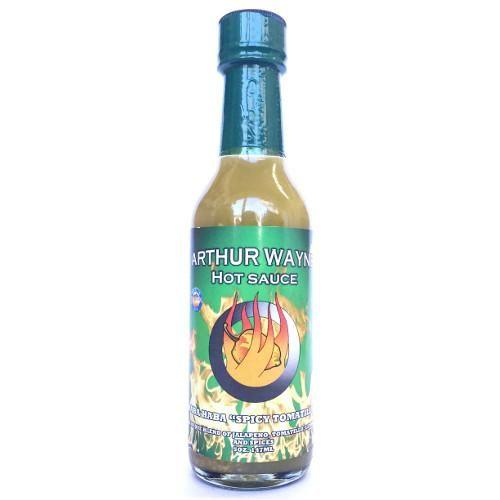 "Haba Haba ""Spicy Tomatillo"" - Arthur Wayne Hot Sauce Heat Hot Sauce Shop"