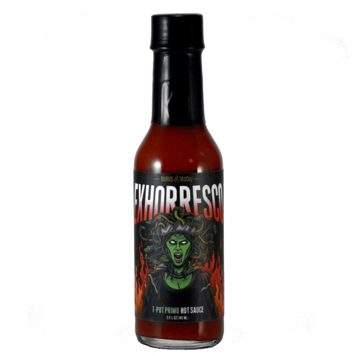 Exhorresco 7-Pot Primo - Burns & McCoy Heat Hot Sauce Shop