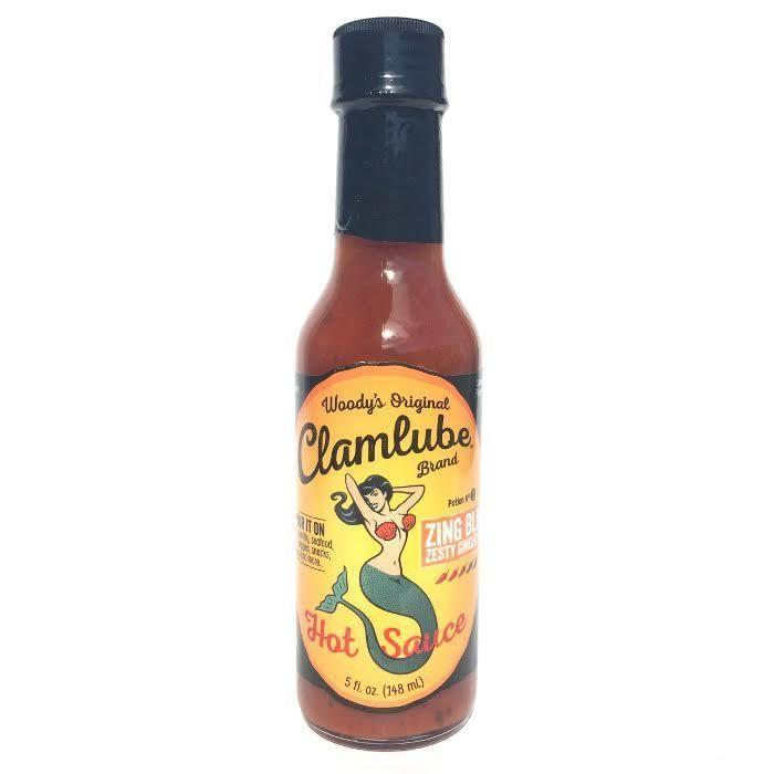 Zing Bling-Zesty Ginger Bite - Woody's Original Clamlube Heat Hot Sauce Shop