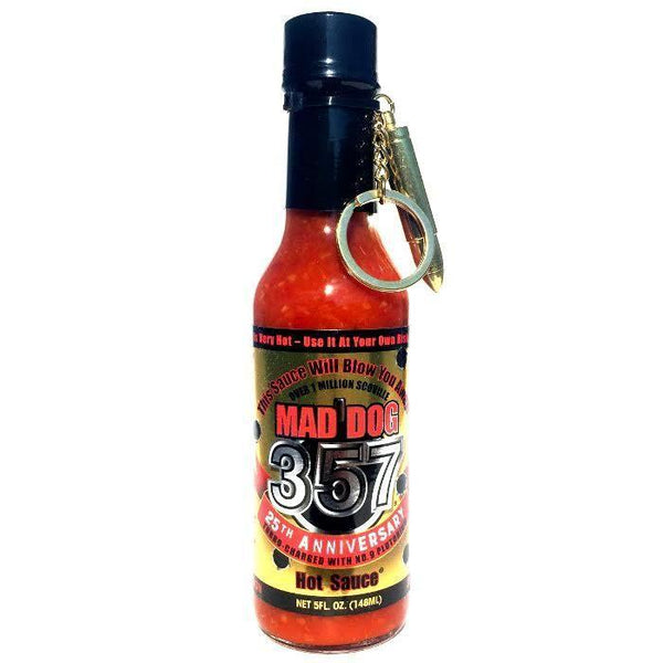357 Gold Edition w/ No. 9 Plutonium - Mad Dog Heat Hot Sauce Shop