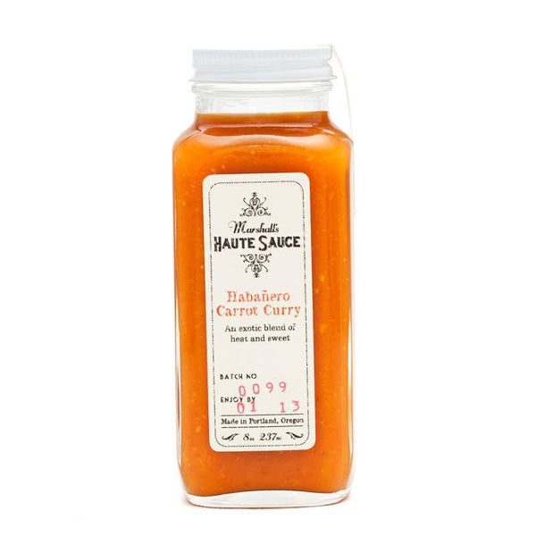 Habanero Carrot Curry - Marshall's Haute Sauce Heat Hot Sauce Shop
