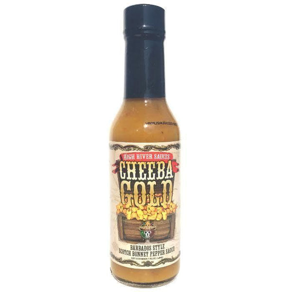 Cheeba Gold - High River Sauces Heat Hot Sauce Shop
