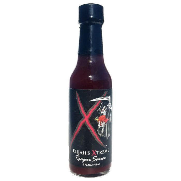 Black Cherry Bourbon Reaper Sauce - Elijah's Extreme Heat Hot Sauce Shop