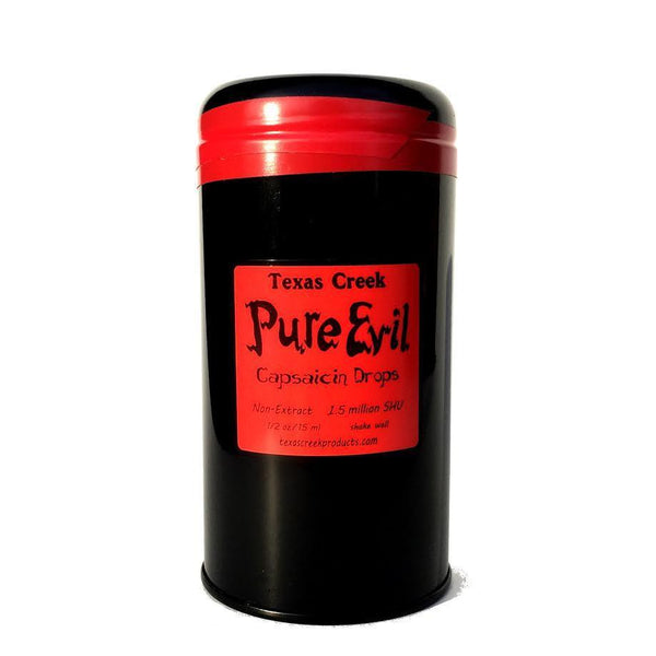Pure Evil 1.5 million SHU - Texas Creek Heat Hot Sauce Shop