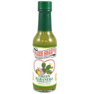 Green Habanero Prickly Pear Pepper Sauce - Marie Sharp's Heat Hot Sauce Shop