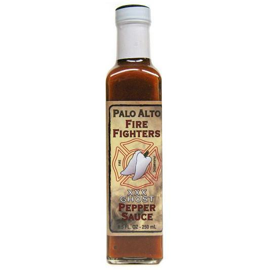 Palo Alto Firefighters Ghost Pepper Sauce - Palo Alto Firefighters Heat Hot Sauce Shop