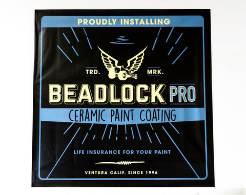 Beadlock Pro Ceramic Coating Banner
