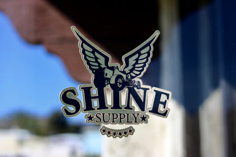 Shine Supply Decal - Gold