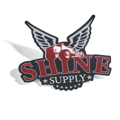 Shine Supply Traditional logo sticker