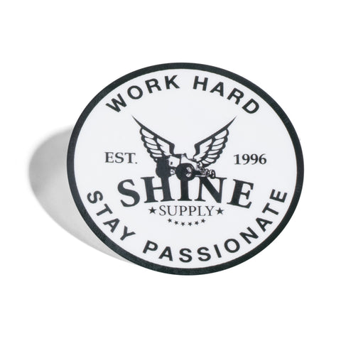 Work Hard sticker - 2""