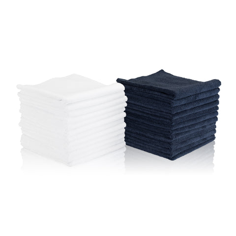 "Edgeless Microfiber Towel 16""X16"""