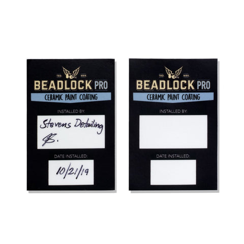 Beadlock Pro Door Jamb Sticker