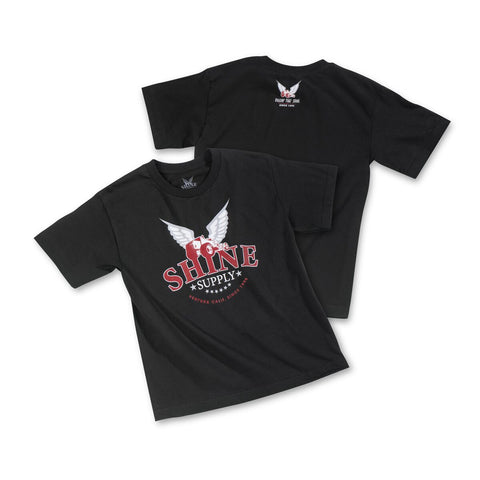 """Traditional"" Shine Supply Youth T-Shirt - Black"