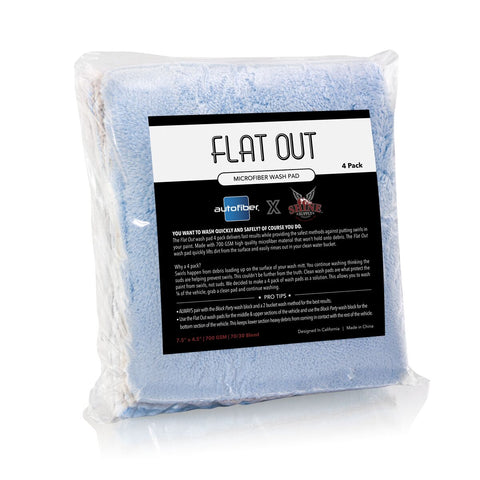 FLAT OUT Wash Pad 4-Pack