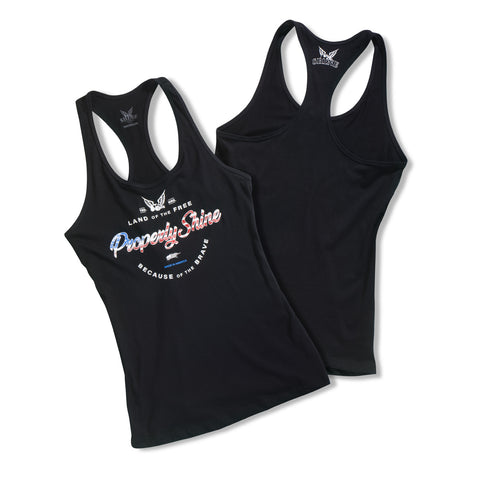 Properly Shine Women's Racerback Tank