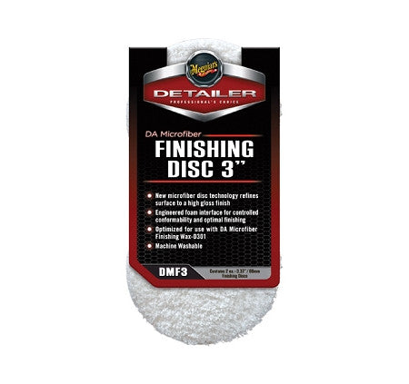 "Meguiars 3"" Microfiber Finishing Disc 2-Pack"