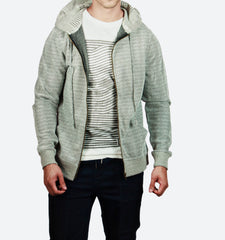 Yessi / Ruiz Grey Zip Up Hoodie