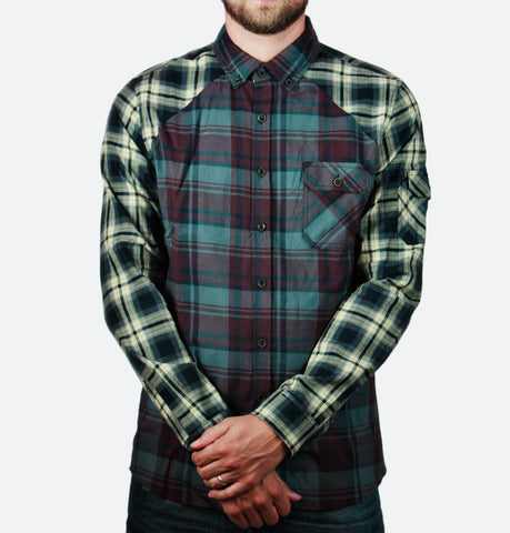 Riley Burgundy Long Sleeve Buttondown
