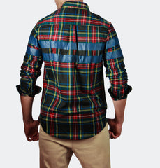 Blake Red Long Sleeve Buttondown