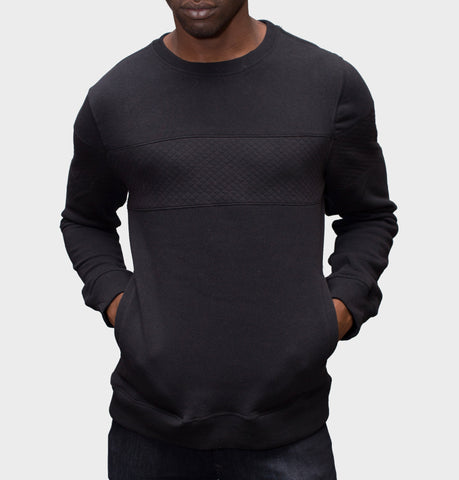 Foster Black Sweater