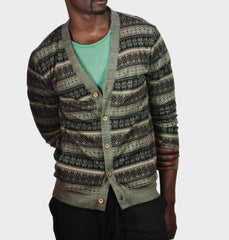 Gerome Light Grey Cardigan