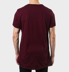 Glendale Black Scoop Neck Tee