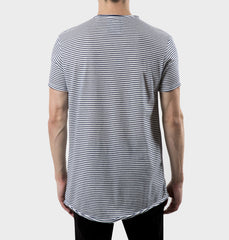 Glen Navy Scoop Neck Tee