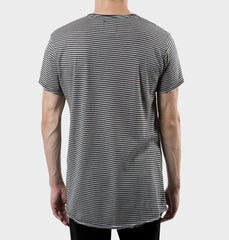 Glendale Grey Scoop Neck Tee