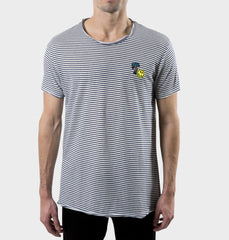 Glendale Navy Scoop Neck Tee