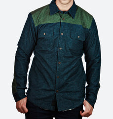 Holloway Navy Button-Up Jacket