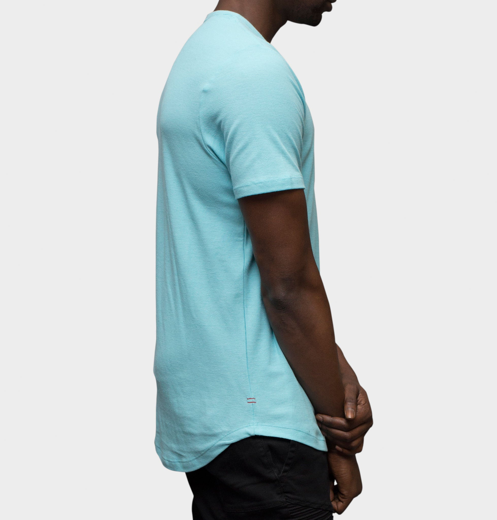 Muralla Mint Short Sleeve Henley