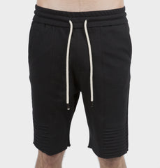 Ninja Black Drawstring Shorts