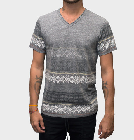Oslo Charcoal Graphic Tee