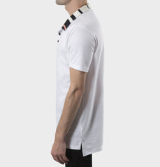 Palmer White Polo Shirt