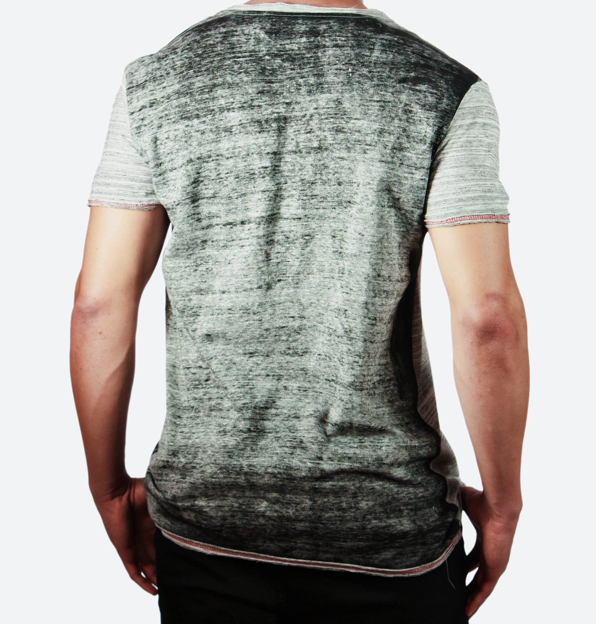 Rogers Light Grey V-Neck Tee