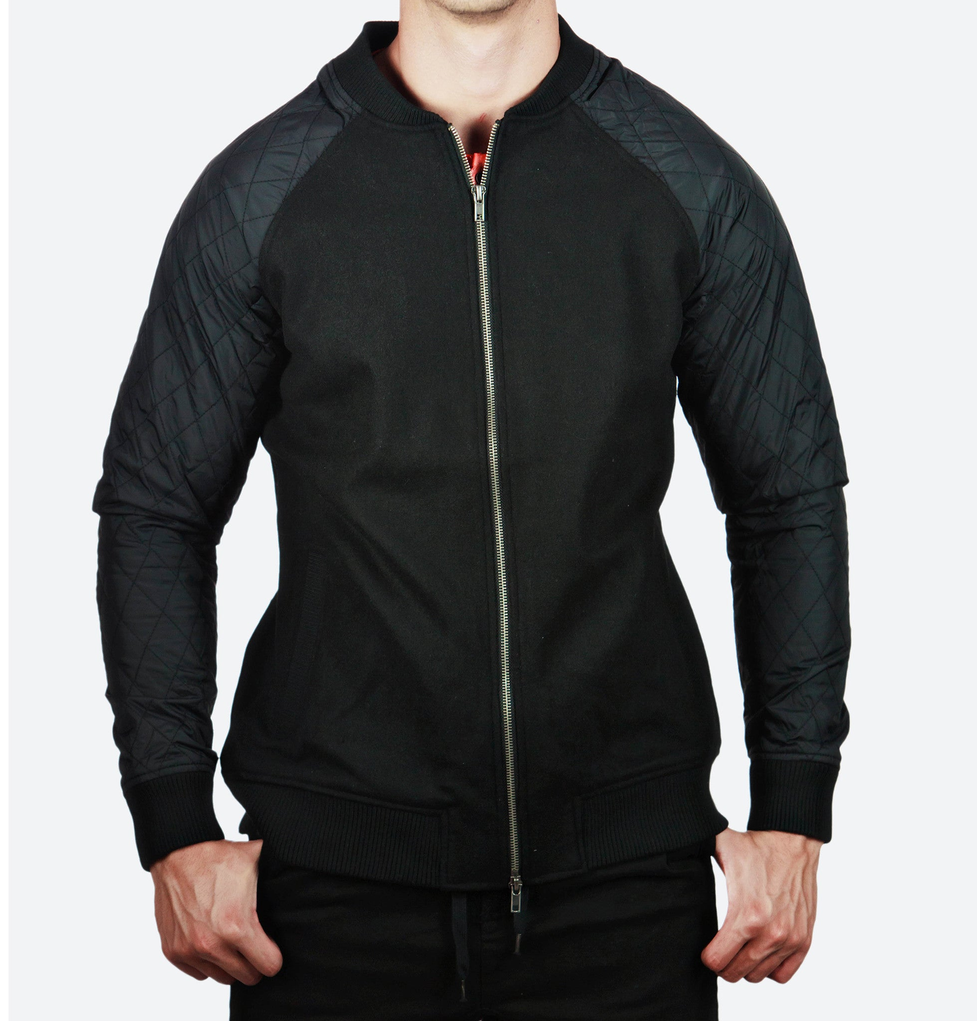 Samuel Black Bomber Jacket