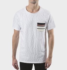 Sprocket White Scoop Neck Tee
