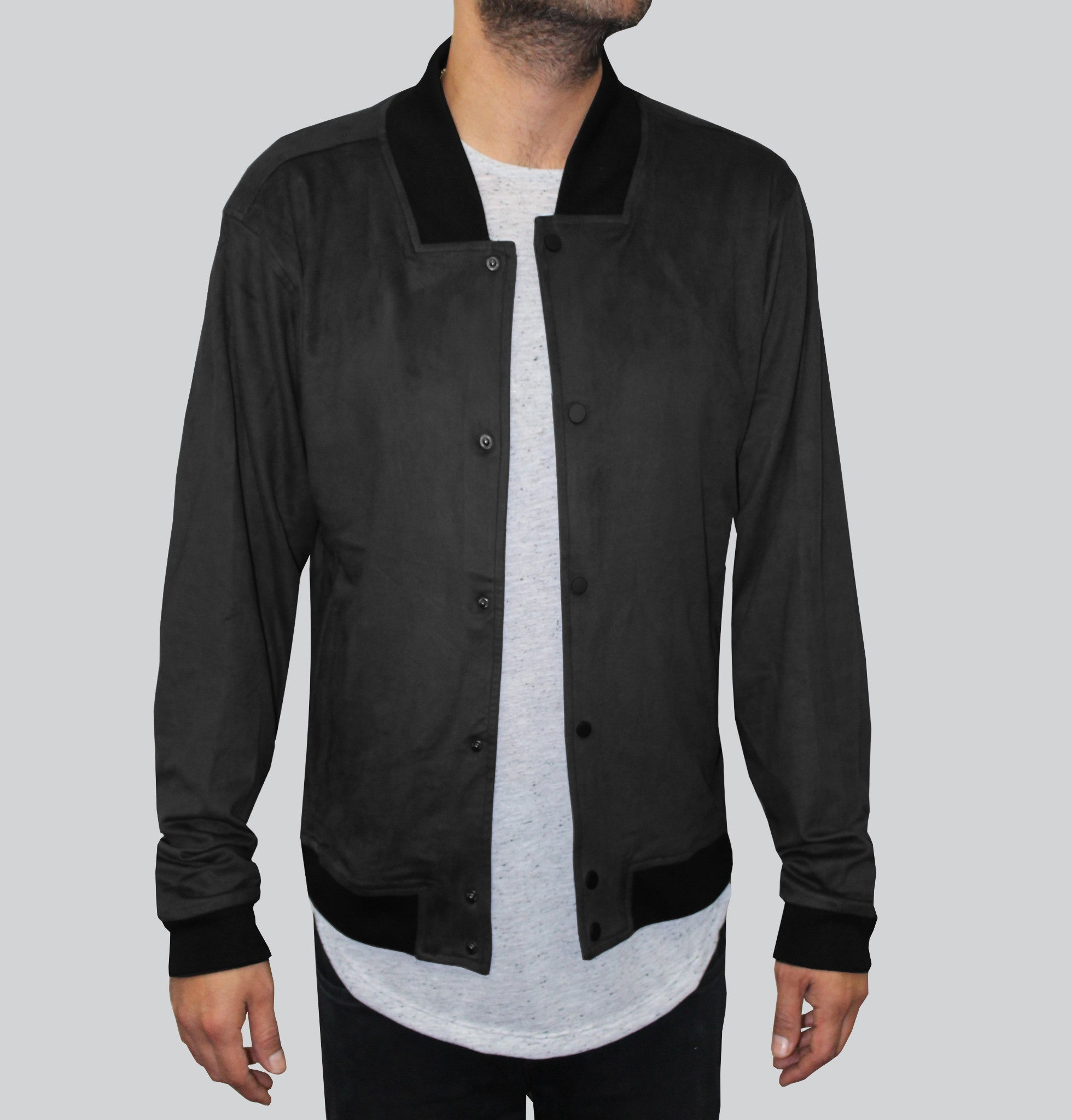 The Sway Ultra Suede Black Jacket