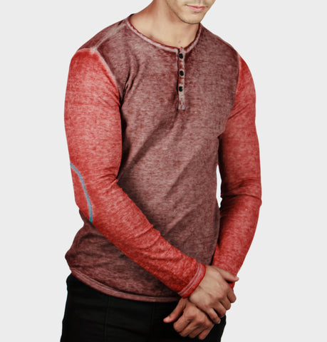 Tom Tom Rust Featherweight Thermal Henley