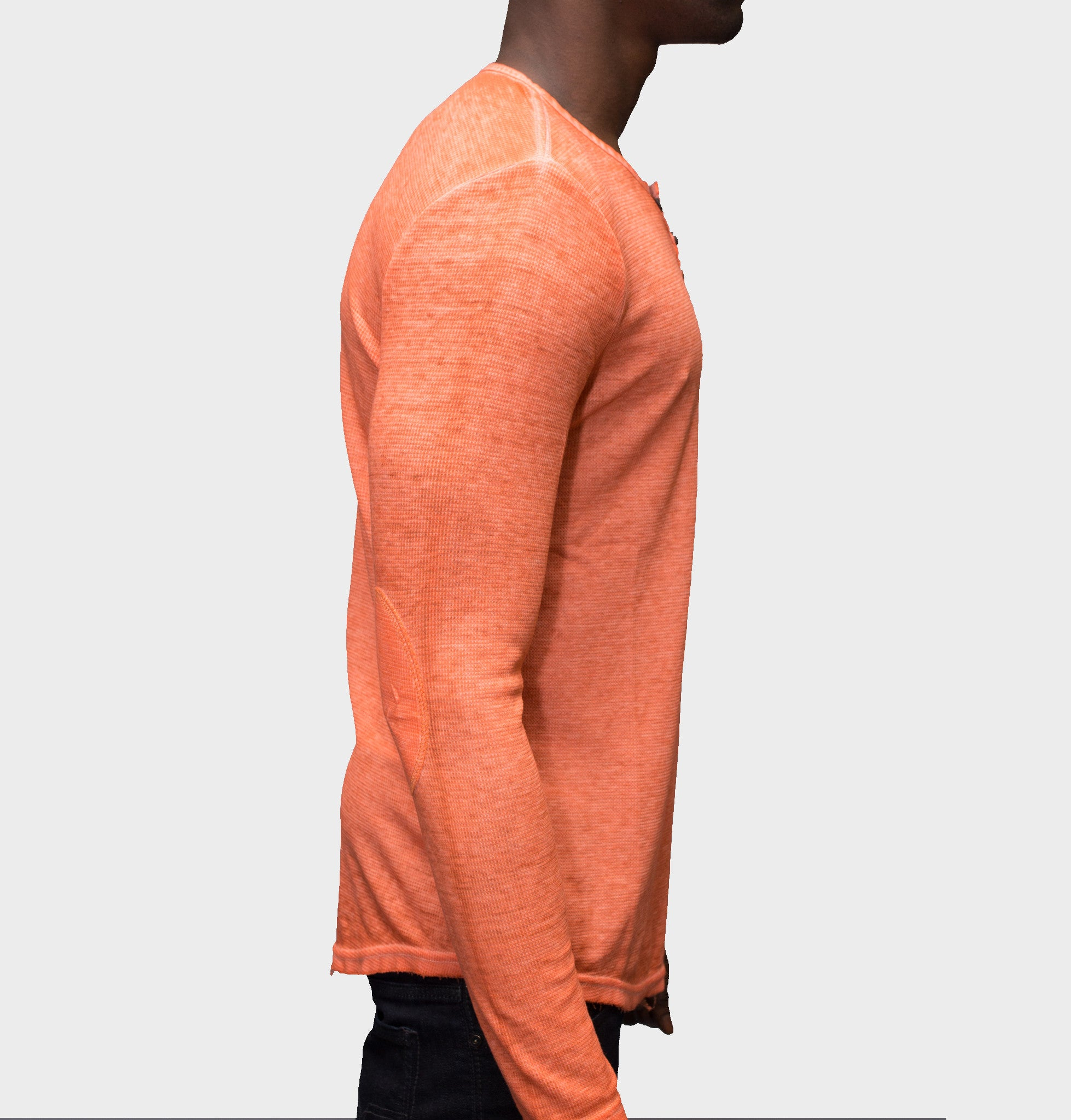 Tom Tom Cantaloupe Featherweight Thermal Henley