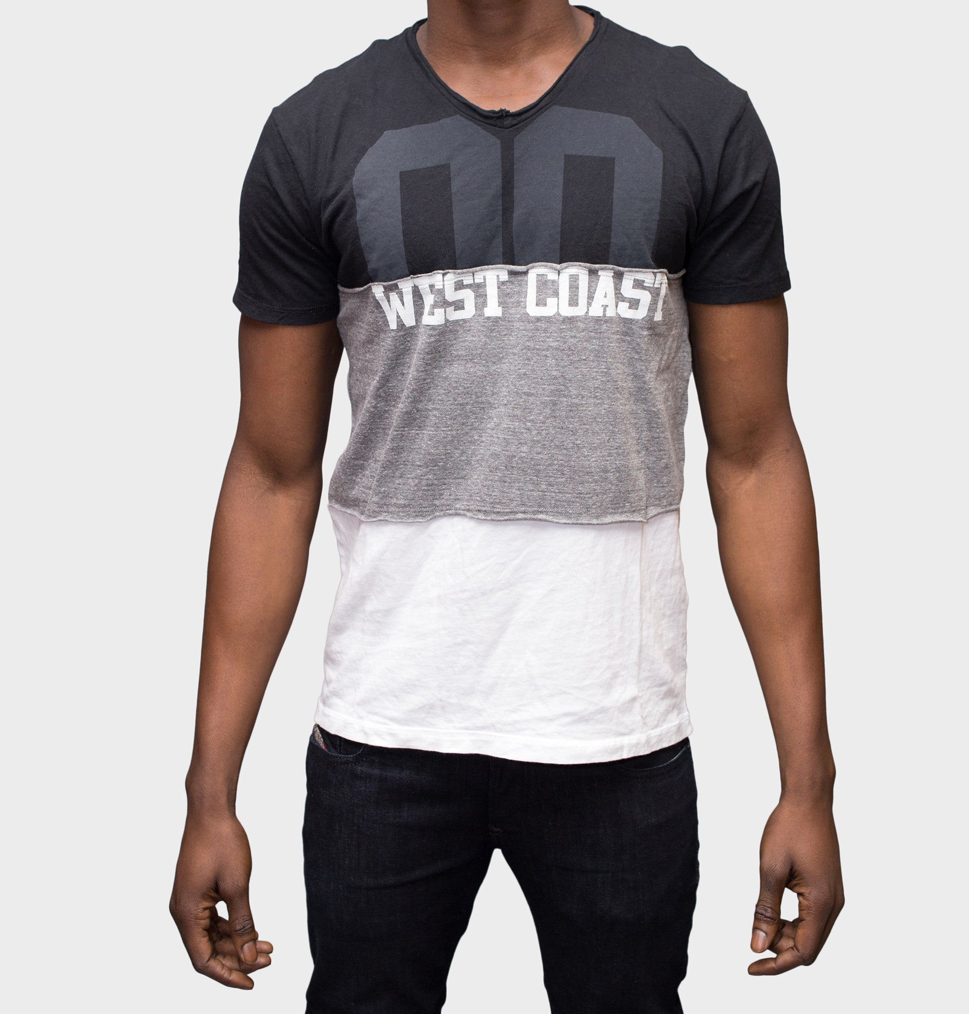 Westcoast V-Neck Graphic Tee