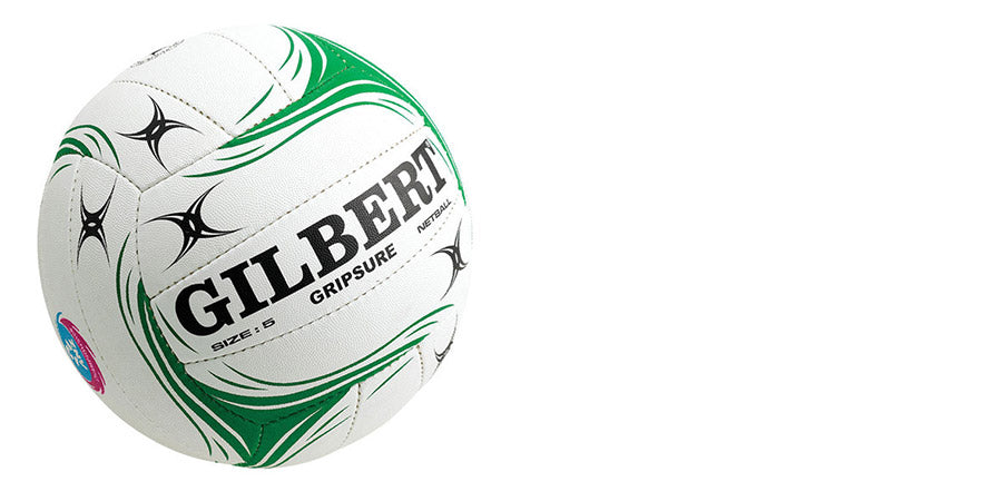 The Best Brand of Netball is GILBERT