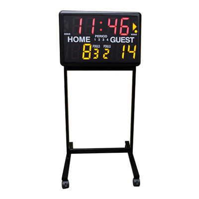 Multi-Sport Electronic Scoreboard – Stand Only