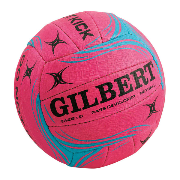 Gilbert Netball - Pass Developer Ball - Pink - Size 5